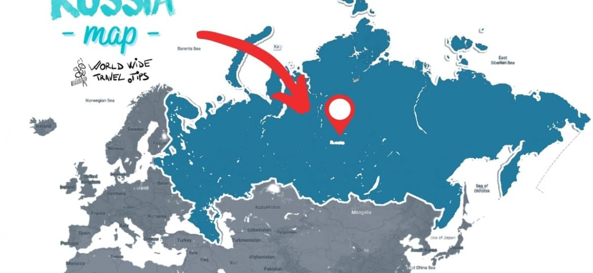 Where is Russia continent located