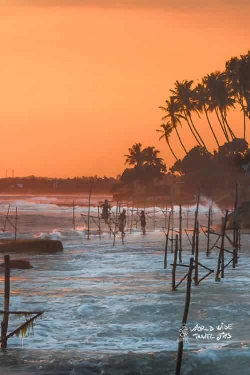 Koggala Beach of Sri Lanka