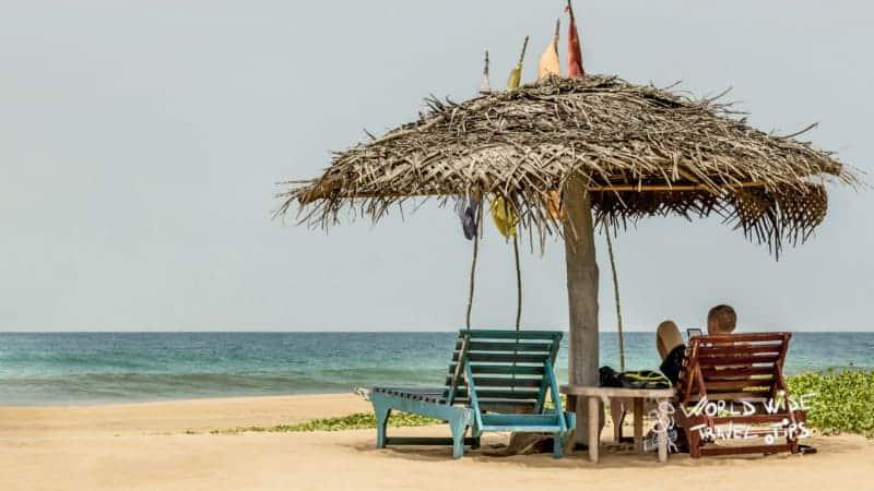 Relax on Bentota Beach in Sri Lanka