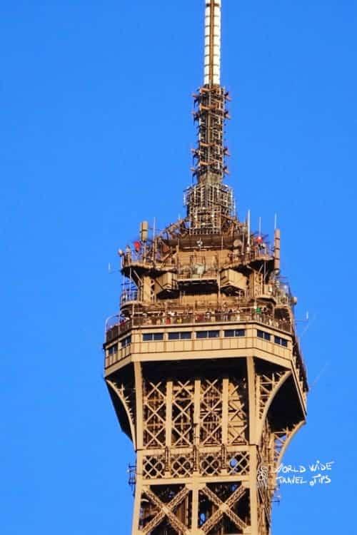 Secret apartment in Eiffel Tower