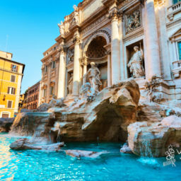 Italy cities to visit Rome Trevi Fountain
