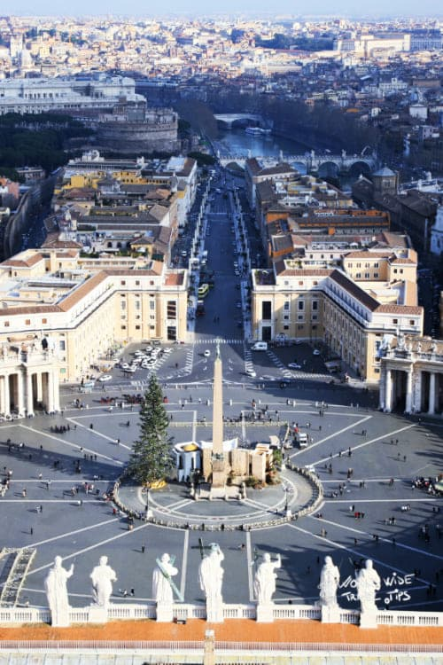 Vatican Square Rome Italy cities to visit
