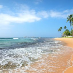 Waves on Best Sri Lanka Beaches
