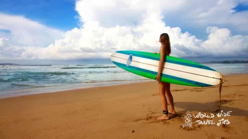 the best beach in Sri Lanka Weligama Sri Lanka beautiful beach