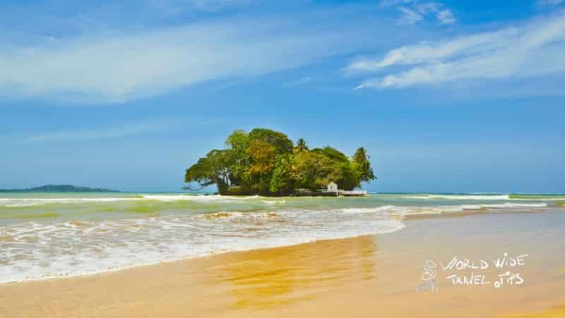 Weligama near Matara Sri Lanka beach
