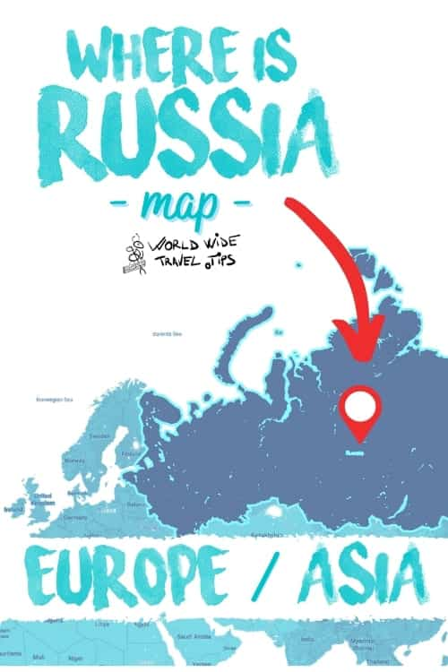 Where is Russia located on the map