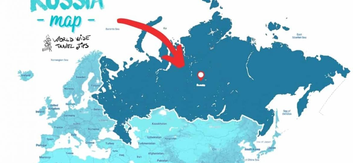 is Russia part of Europe or Asia