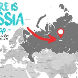 Where is Russia located on map