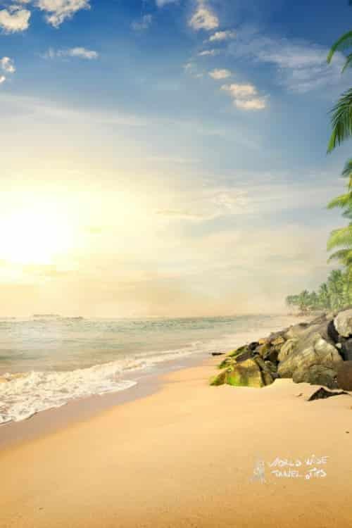 muhathuwaram beach Sri Lankan beaches