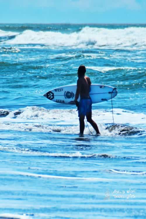 Costa Rica Surfing Beach