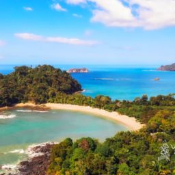 best swimming beaches Costa Rica Manuel Antonio Beach Quespos