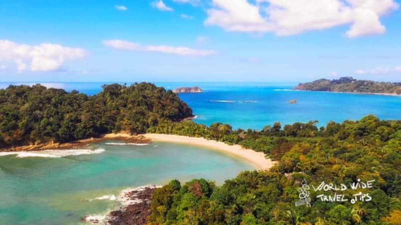 best swimming beaches Costa Rica Manuel Antonio Beach Quespos