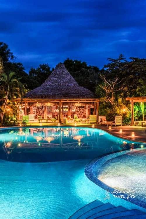 Hotel Cala Luna Boutique Hotel pool Tamarindo Costa Rica
