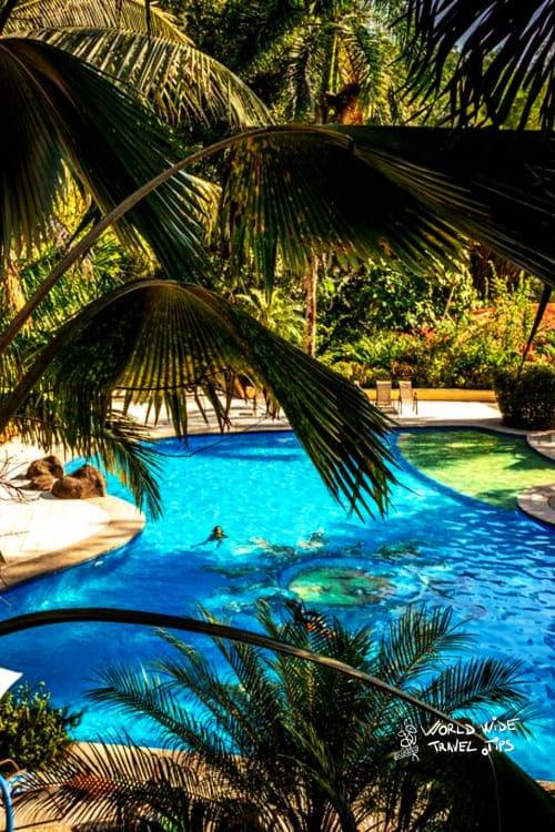Hotel Jaco Docelunas Room Costa Rica pool