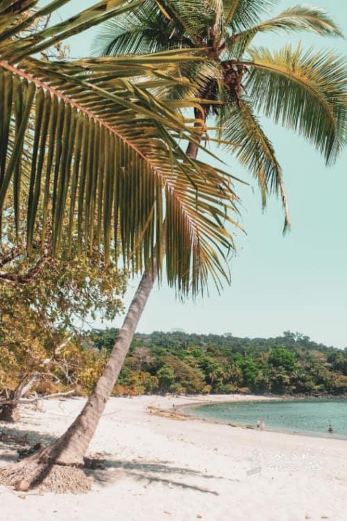 Manuel Atonio Beach in Costa Rica