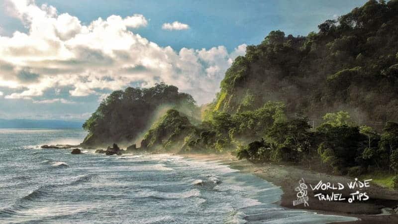 Playa Hermosa Beach Costa Rica black sand beaches