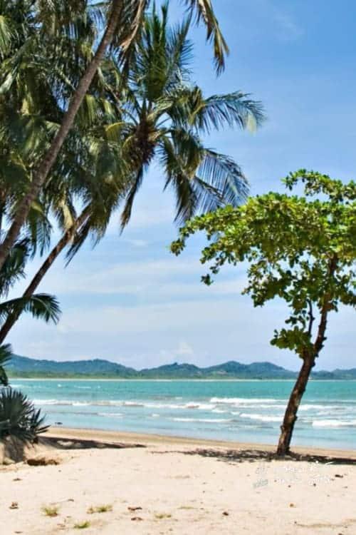 Playa Langosta beach Costa Rica