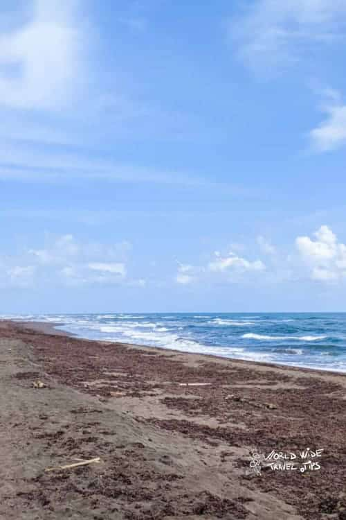 Tortuguero Beach in Costa Rica