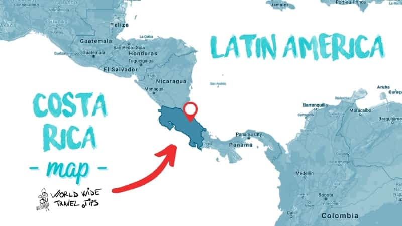Is Costa Rica in Latin America