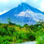 Arenal National Park of Costa Rica