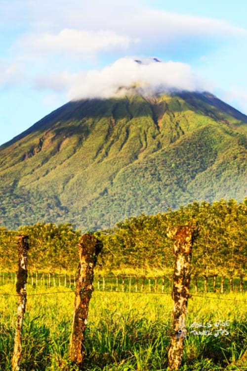 Arenal Volcano in Costa Rica volcanoes