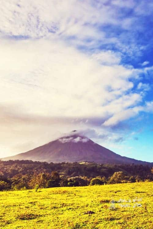 Arenal Volcano of Costa Rica