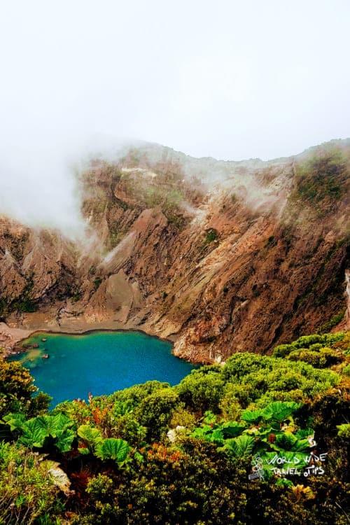 Irazu Volcano of Costa Rica