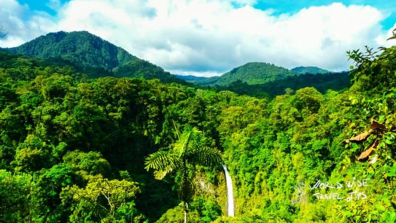 La Fortuna de San Carlos Waterfalls of Costa Rica