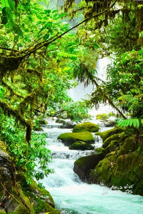 La Paz Waterfall garden Costa Rica Cloud Forest