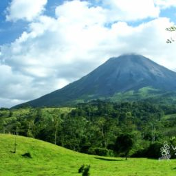 National Park Arenal Volcanoes in Costa Rica