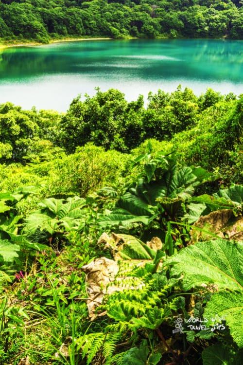 Poas Volcano Blue Lagoon Costa Rica