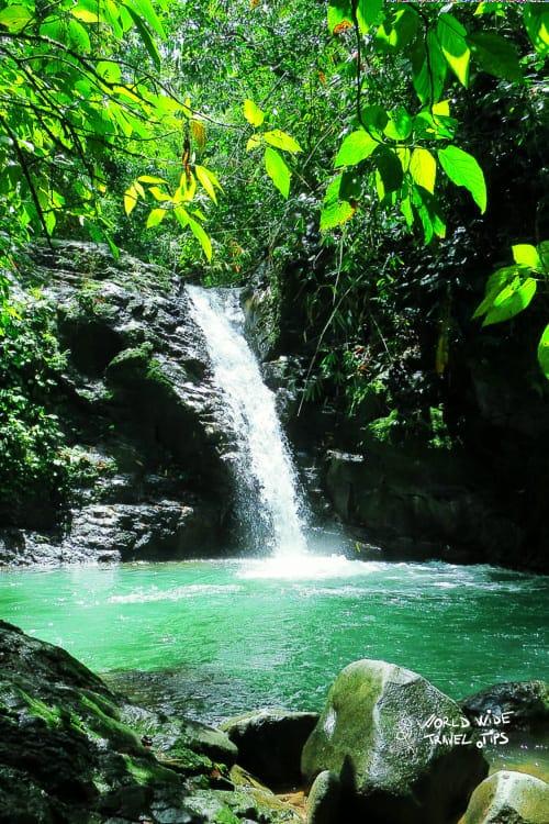 Waterfalls in Costa Rica Uvita Waterfall