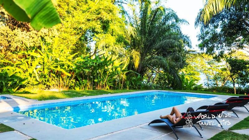 hotel nya montezuma waterfalls Costa Rica pool