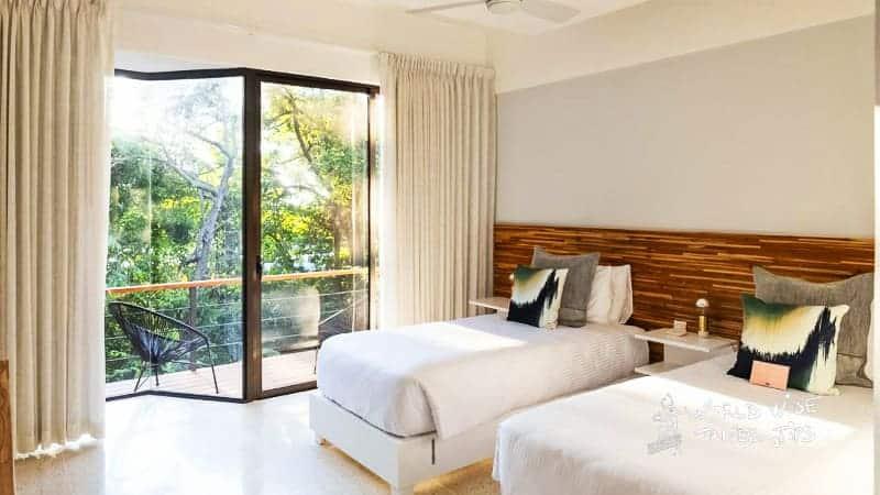 hotel nya montezuma waterfalls Costa Rica room