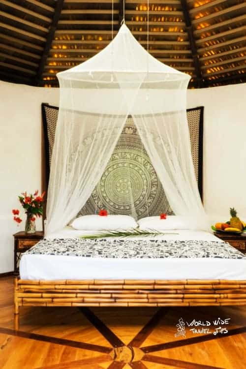 paradise lodge temple costa rica queen bed