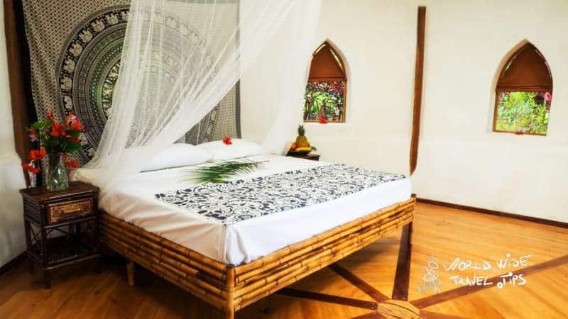 paradise lodge temple costa rica bungalow room