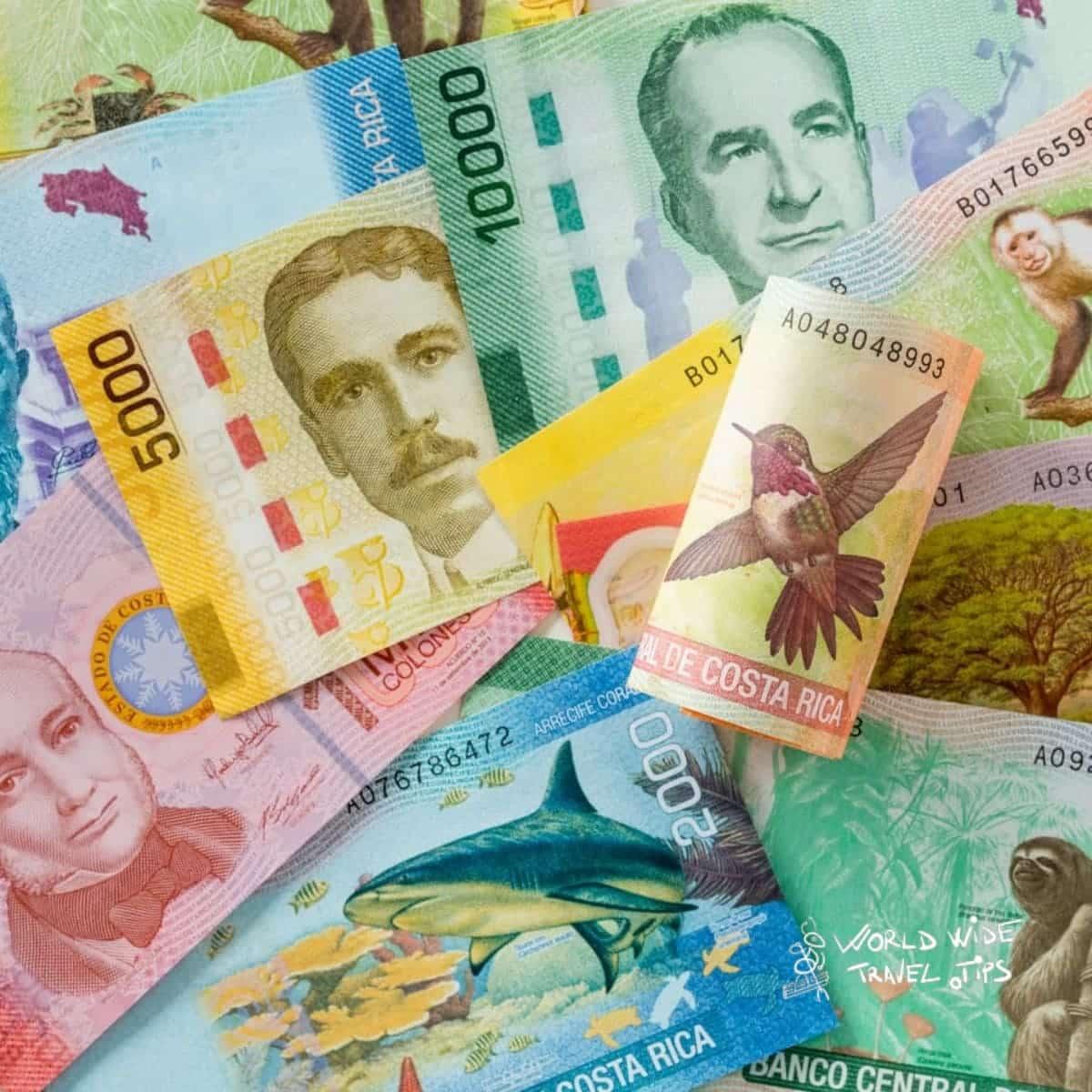 Money in Costa Rica exchange Money