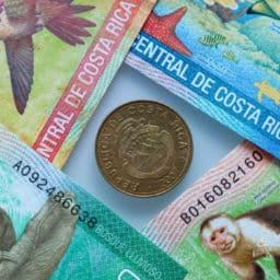 Costa Rican money