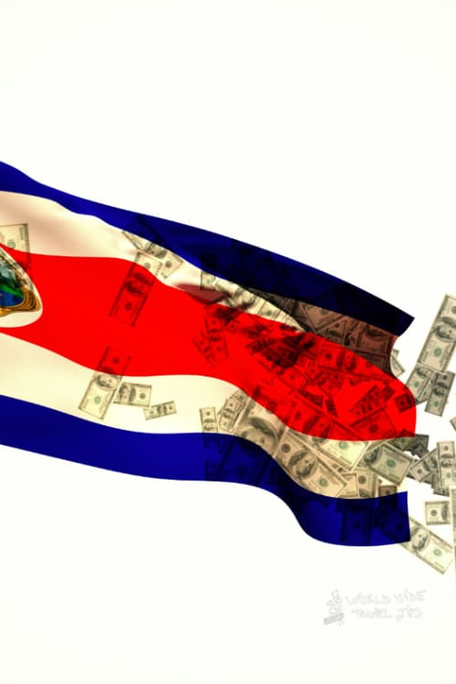 Currency of Costa Rica USD