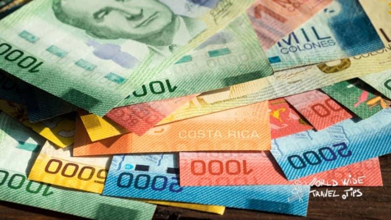 Money from Costa Rica