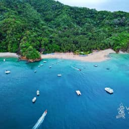 Tortuga Island in Costa Rica Beach