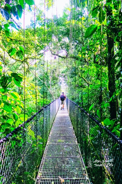 Tourism in Costa Rica Entry