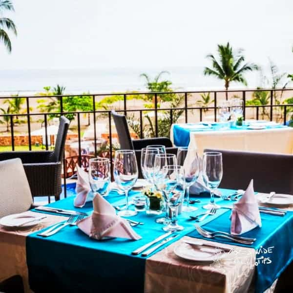 Croc s Resort and Casino Restaurant with Sea View