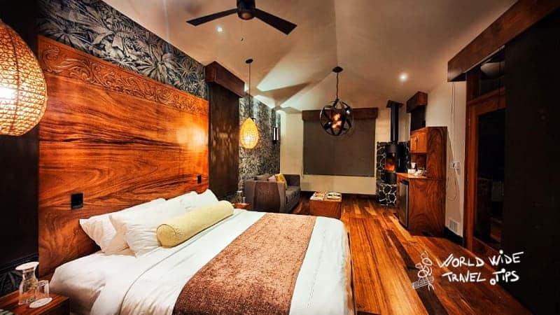 El Silencio Lodge and Spa Room