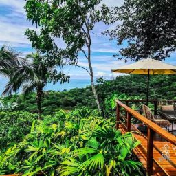 Lapa Rios Osa Peninsula terrace Eco resorts in Costa Rica