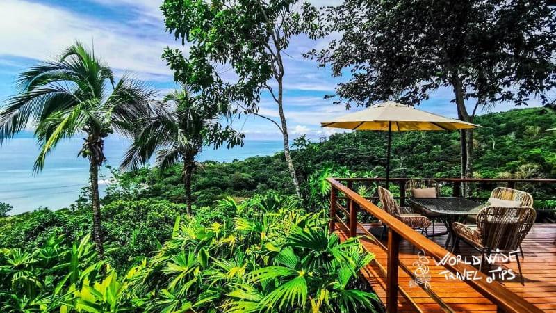 Lapa Rios Osa Peninsula terrace ecotourism in Costa Rica
