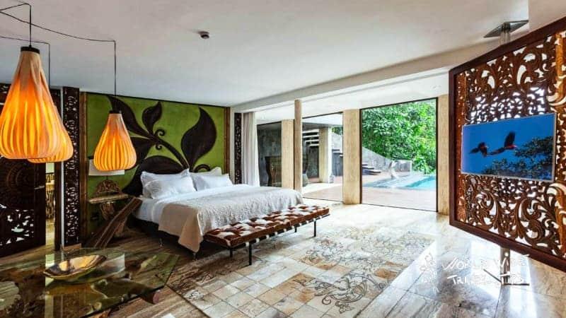 Makanda by the Sea Hotel Room Bed