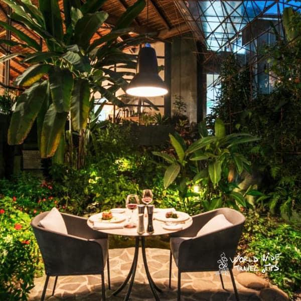 Monteverde Lodge and Gardens dinner