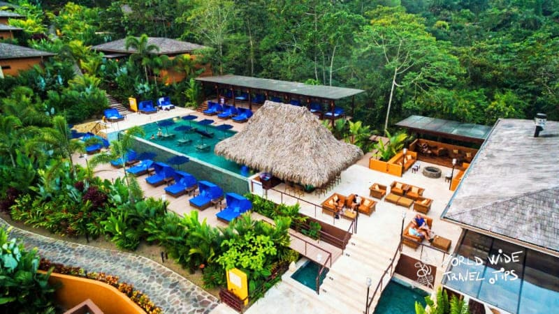 Nayara Springs Resort Aerial View