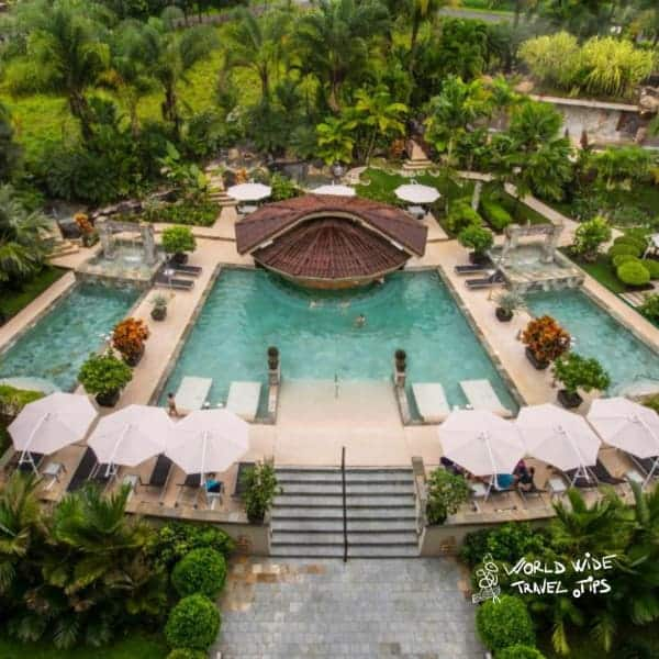 The Royal Corin Thermal Water Spa and Resort aerial view